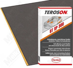 TEROSON BT SP 300  1000x500  2,6mm Mata głusząca 1000x500  2,6mm 4maty